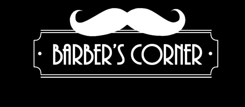 Barber's Corner förslag Svart utan baderoller